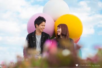 Hazuki × Yoshiki | カップルフォト