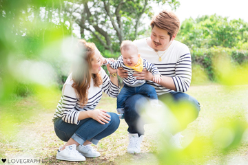 Mami × Tetsuya | 家族写真(ファミリーフォト)