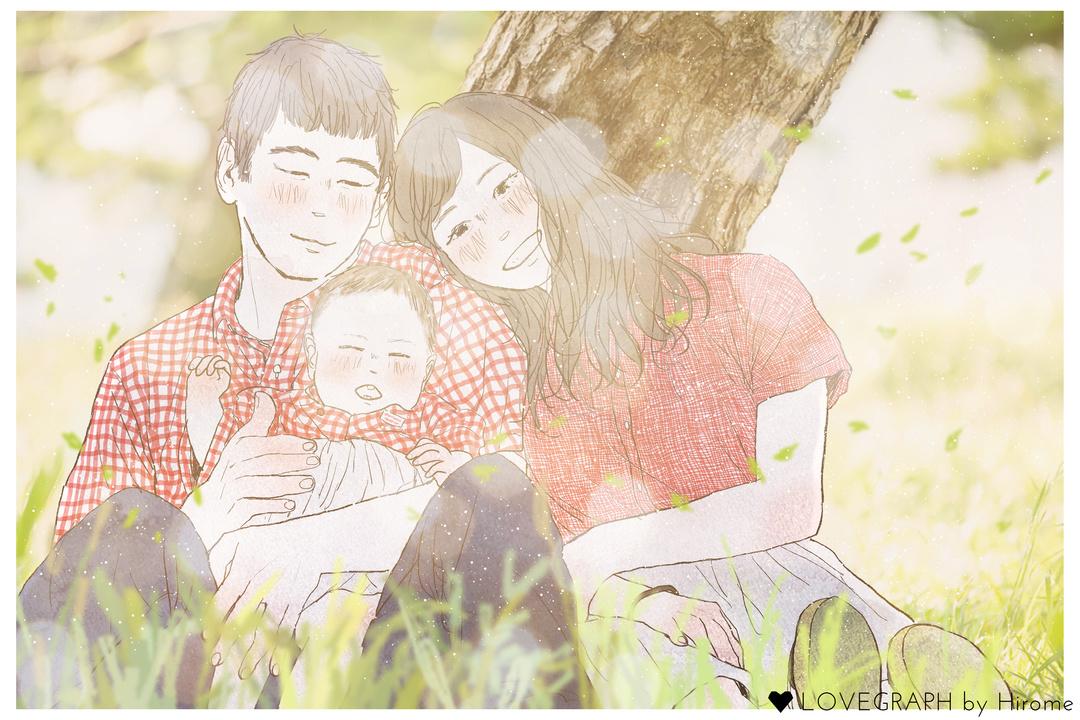 Manami × Arata × Makoto   家族写真(ファミリーフォト)