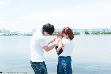 Aya × Ryunosuke × Anju | ファミリーフォト(家族・親子)