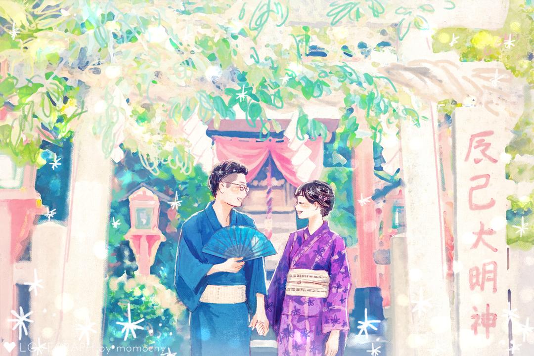 Ken × Ayaka   カップルフォト