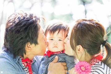 Aki × Shuta | 家族写真(ファミリーフォト)