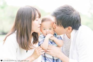 Aya × Takeshi | 家族写真(ファミリーフォト)