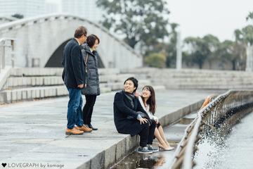 Momoko × Kenji | 家族写真(ファミリーフォト)