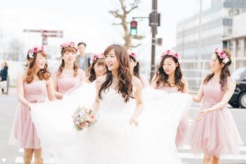 Ayako× bridesmaid