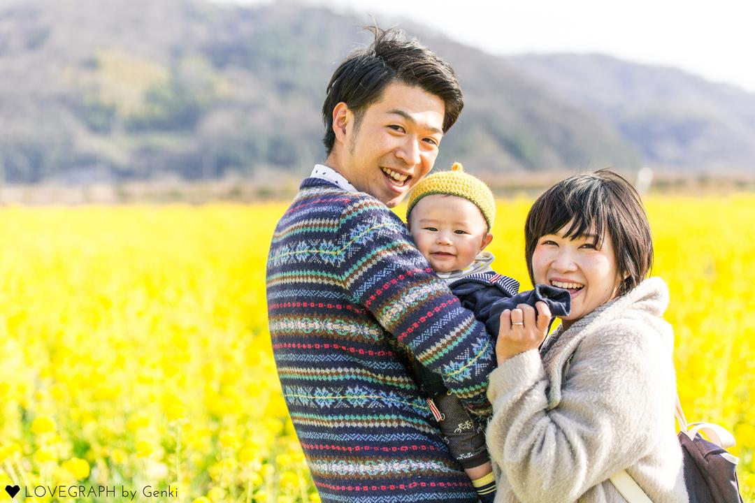 Maiko×Takashi×Minato | 家族写真(ファミリーフォト)