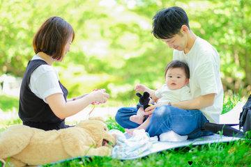 Shigeyuki×Mina | 家族写真(ファミリーフォト)