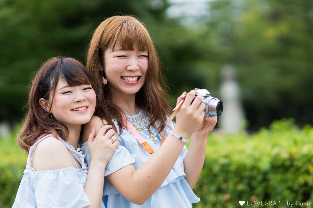 Yurika×Michiru | フレンドフォト(友達)