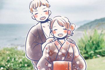 Yuitirou×Nanami   カップルフォト