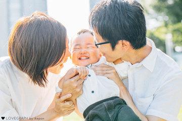 Kumiko×Minato | 家族写真(ファミリーフォト)