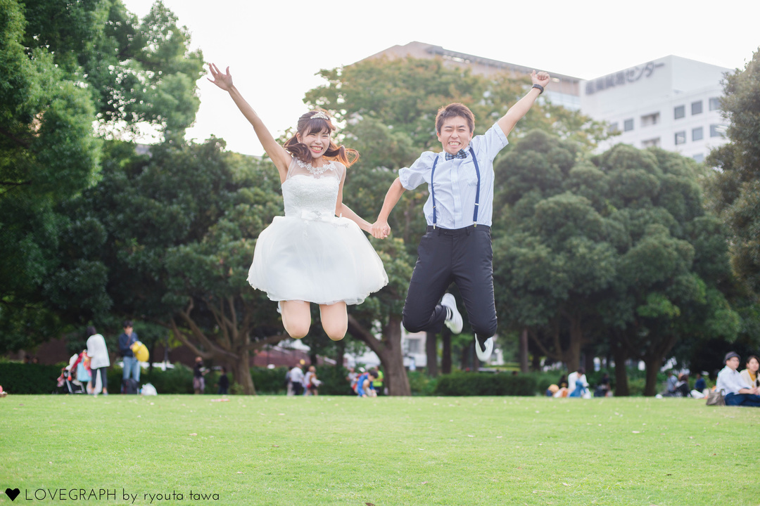 Shinichi×Rika | 夫婦フォト