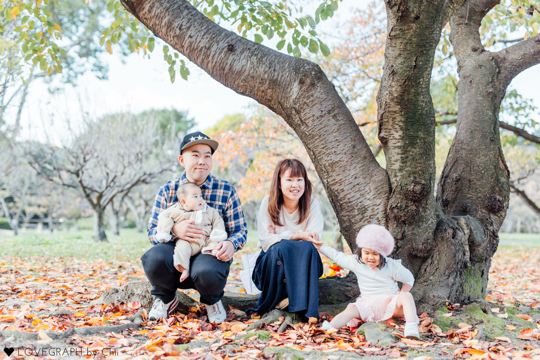 Hirari×Norihisa | 家族写真(ファミリーフォト)