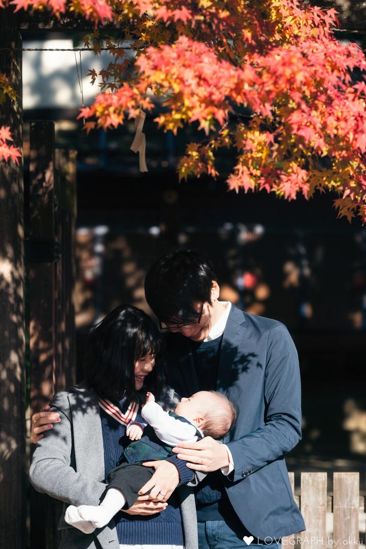 Takashi Taiki Sayaka | 家族写真(ファミリーフォト)
