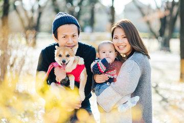 Aya × Ryouhei | 家族写真(ファミリーフォト)