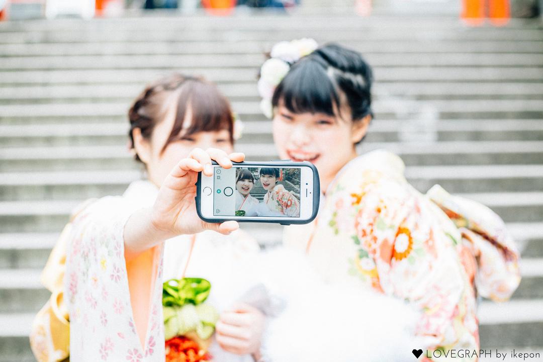 YUKA &HINA | フレンドフォト(友達)