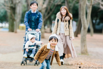 Hide&Yoko Family | 家族写真(ファミリーフォト)