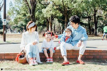 Tamura Family | 家族写真(ファミリーフォト)