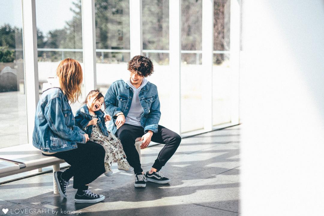 Sara × mama × papa | 家族写真(ファミリーフォト)
