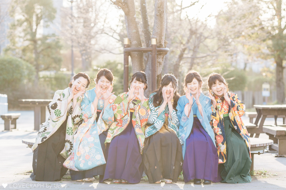Furisode × Akie   フレンドフォト(友達)