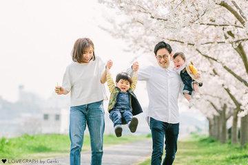 Kawamura Family | 家族写真(ファミリーフォト)
