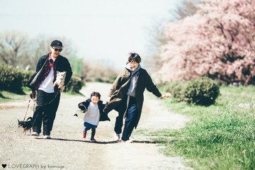 Yumikyoro family | ファミリーフォト(家族・親子)