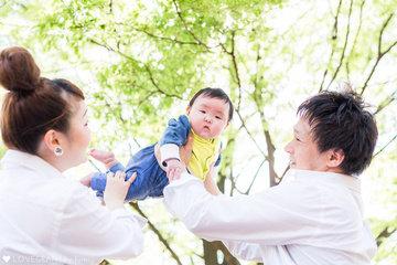 Miori First Spring | ファミリーフォト(家族・親子)