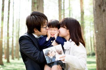 Kanna × Takaaki × Aki | 家族写真(ファミリーフォト)