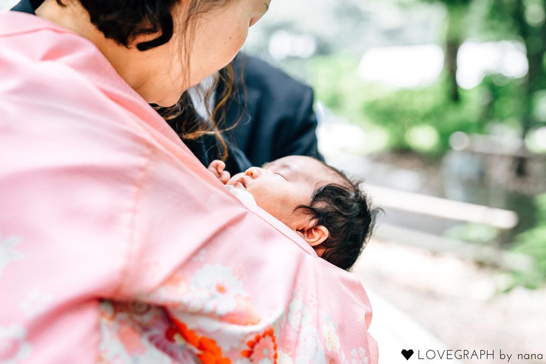 The birth of Chinami  | 家族写真(ファミリーフォト)