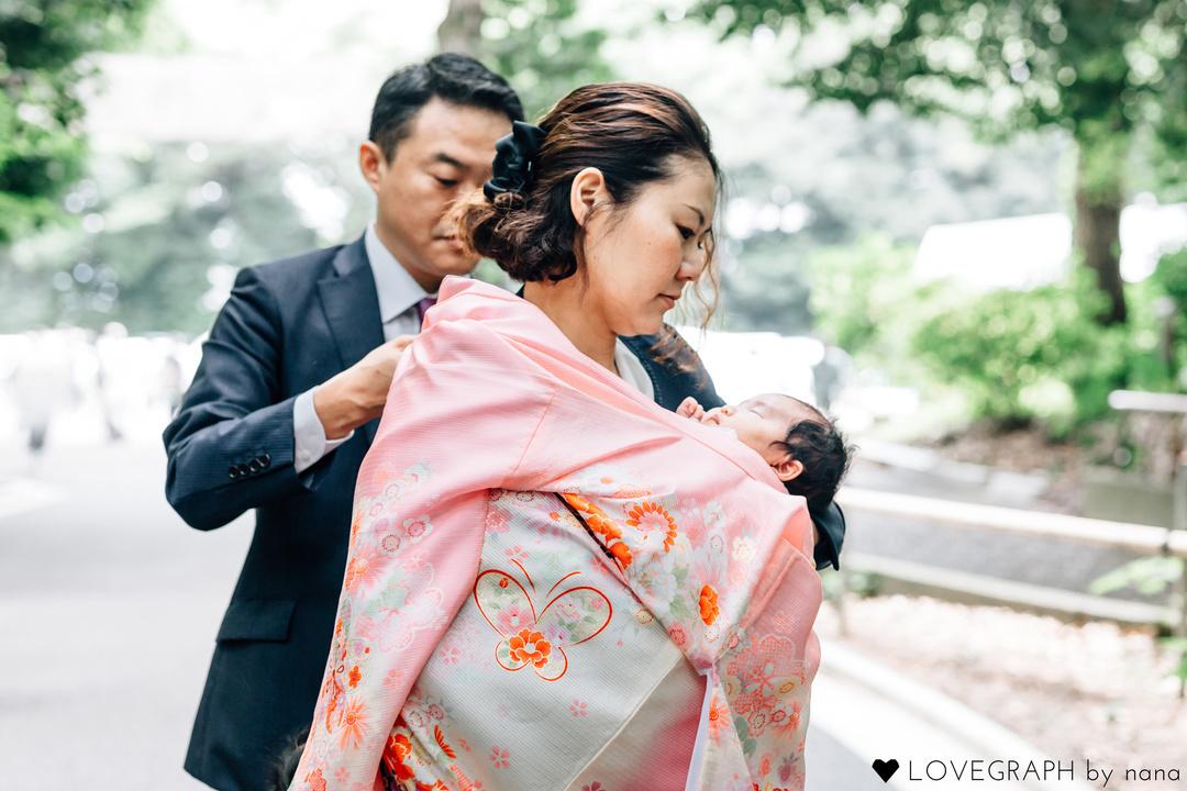 The birth of Chinami    家族写真(ファミリーフォト)