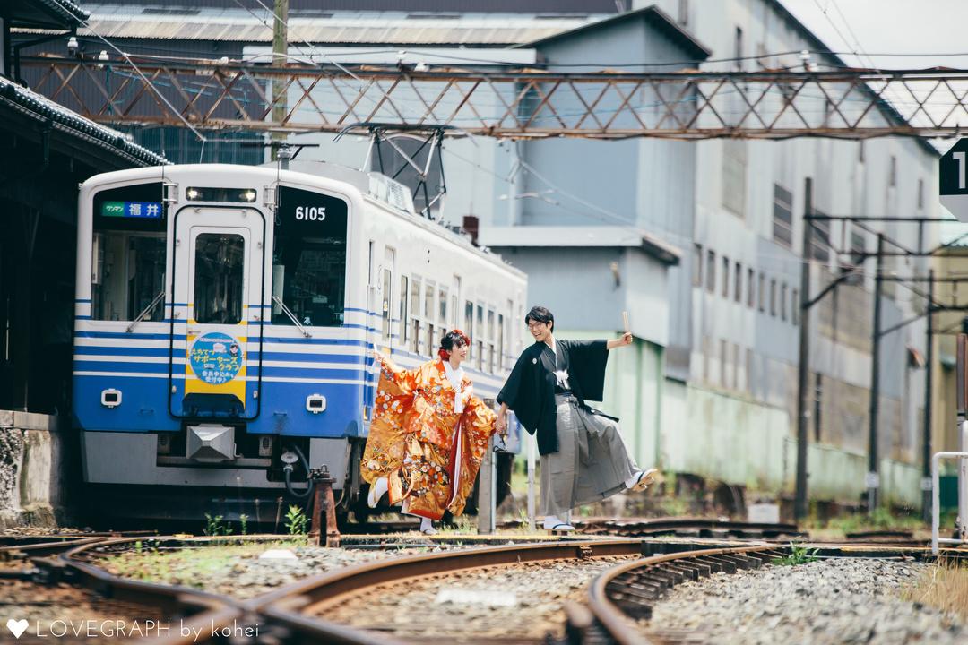 Keisuke×Shiori at 平泉寺/勝山 | 夫婦フォト
