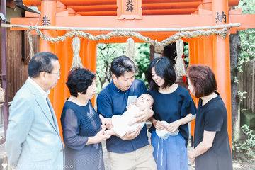ゆうき お宮参り&お食い初め | 家族写真(ファミリーフォト)