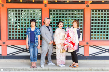 Hinano お宮参り | 家族写真(ファミリーフォト)