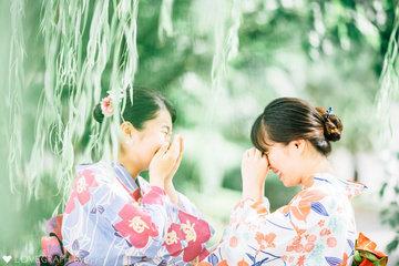 Yui&Linh | フレンドフォト(友達)