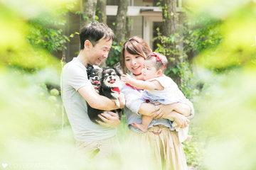 Riri Family with Merry Sunny | 家族写真(ファミリーフォト)