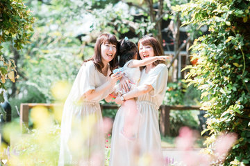 Marie Yurie Twins | 家族写真(ファミリーフォト)