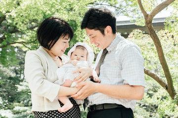 Yuzu's omiyamairi | 家族写真(ファミリーフォト)