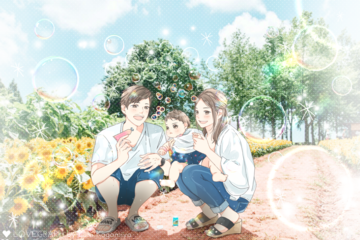 Rena Family   家族写真(ファミリーフォト)